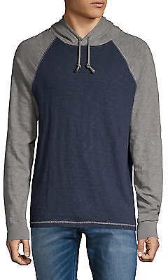 Lucky Brand - Colorblock Hooded Tee