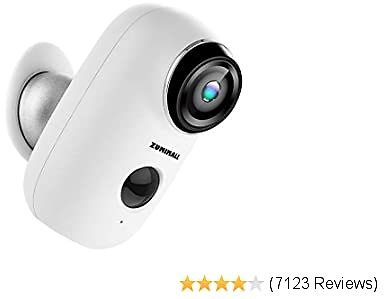 Wireless Rechargeable Battery Powered WiFi Camera, Home Security Camera, Night Vision, Indoor/Outdoor, 1080P Video 2020