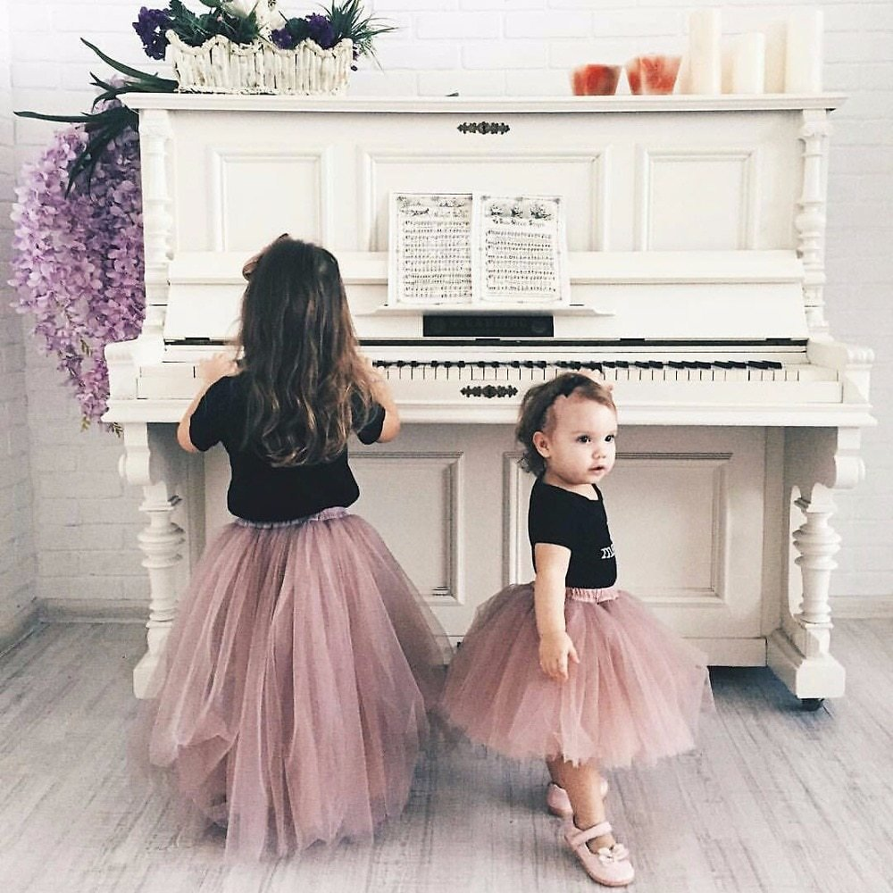 US $12.19 12% OFF|Fluffy Soft Baby Tulle Girl Tutu Skirts Pettiskirt Kids Princess Clothes Birthday Gift Toddler Ball Gown Party Children Skirt|Skirts| - AliExpress