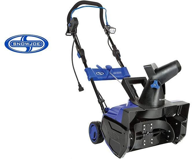Snow Joe 18-Inch Electric Snow Thrower with LED Lights