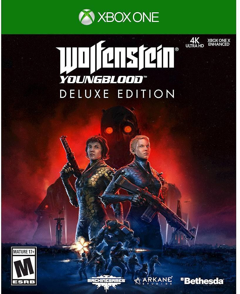 Wolfenstein: Youngblood Deluxe Edition XB1 and PS4