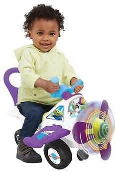 Disney Lights N' Sounds Minnie Mouse or Buzz Lightyear Activity Plane