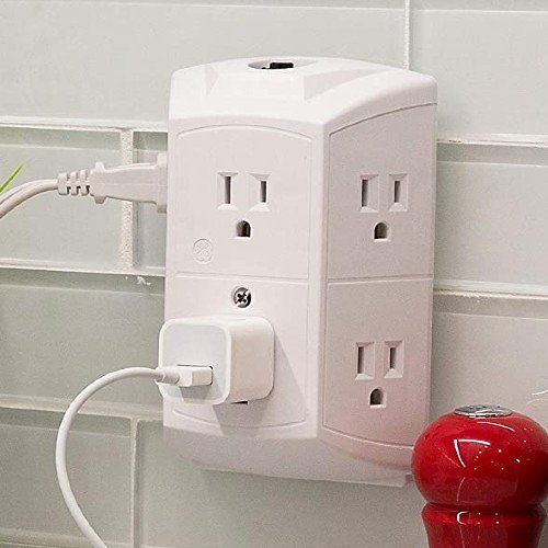 GE 6-Outlet Wall Tap Power Extender
