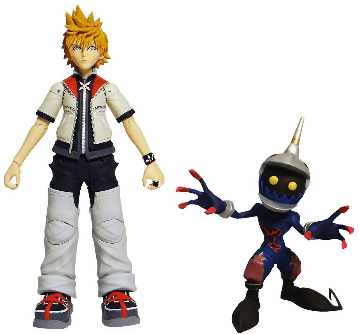 Kingdom Hearts Series 2 Roxas and Soldier Action Figure | GameStop