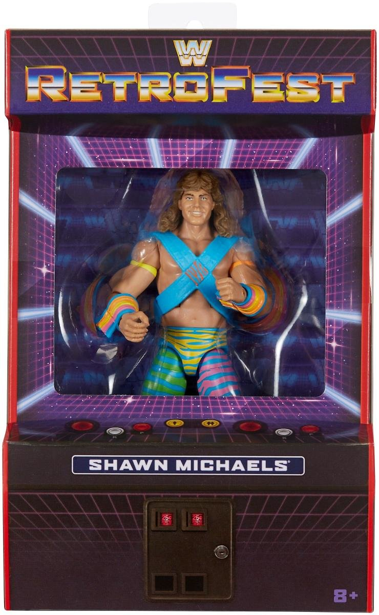 WWE Shawn Michaels Elite Collection RetroFest Action Figure Only At GameStop | GameStop