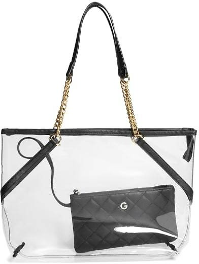 Steffi Lucite Tote with Wristlet