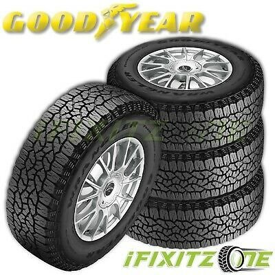 4 Goodyear Wrangler TrailRunner AT All-Terrain 235/75R15 105S M+S Truck Tires