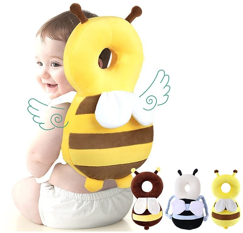US $6.43 39% OFF|Baby Head Protection Pillow Cartoon Infant Anti Fall Pillow Soft PP Cotton Toddler Children Protective Cushion Baby Safe Care|Pillow| - AliExpress