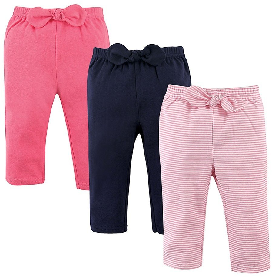 Love This Product Pink & Navy Stripe Joggers Set - Newborn, Infant & Toddler