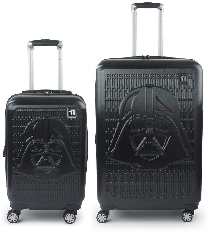 Star Wars Darth Vader Embossed 29-in and 21-in 2-Pcs Luggage Set