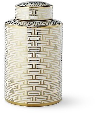 Gold Printed Jar, Mosaic