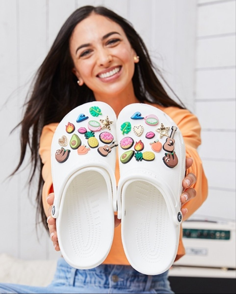 Free Jibbitz™ Charm with Any Footwear Purchase!*