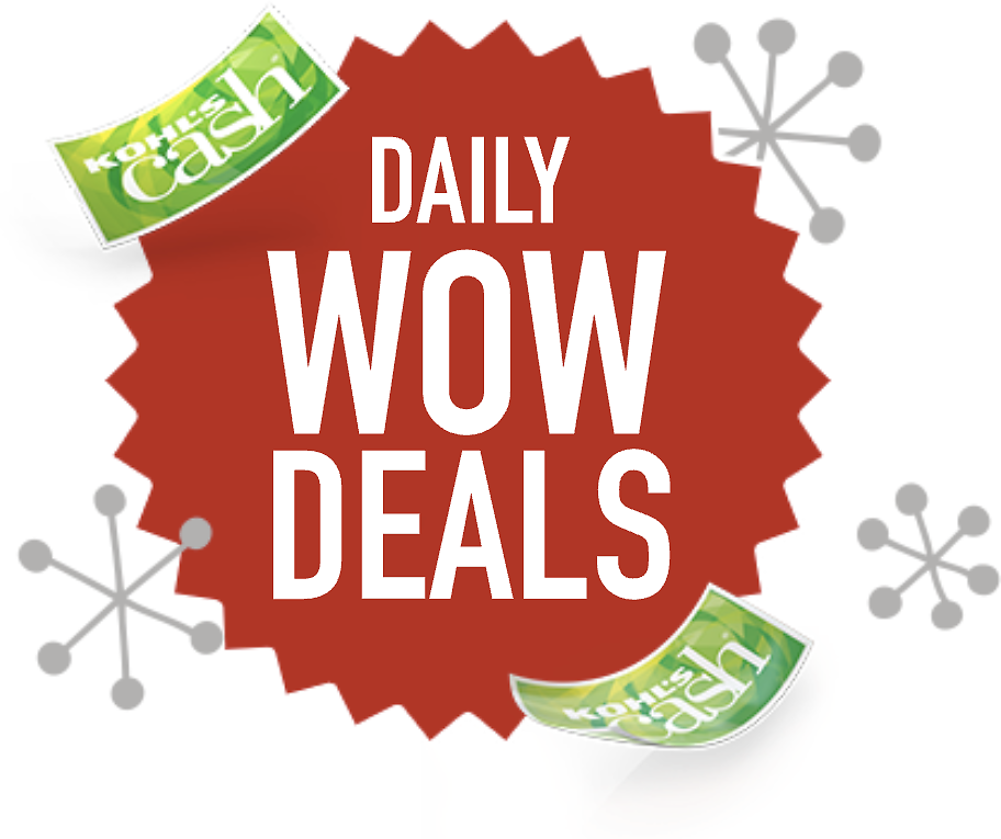 (6/21) Up to 80% Off WOW Deals + Extra 15% Off w/Kohl's Charge