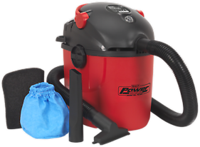 PC100 Sealey Vacuum Cleaner Wet & Dry 10ltr 1000W/230V [Vacuum Cleaners]