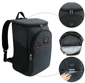 Insulated Cooler Backpack Lunch Travel Picnic Camping Beach Cold Drinks Beer Bag