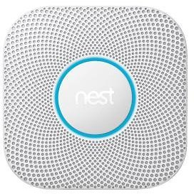 Google Nest Protect Wired Smoke and Carbon Monoxide Detector-S3003LWES