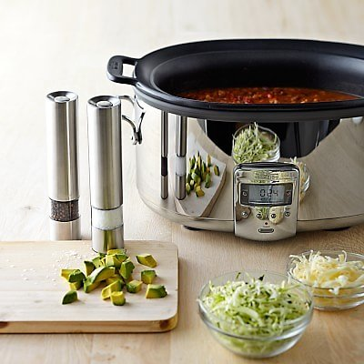 All-Clad Deluxe Slow Cooker with Cast-Aluminum Insert, 7-Qt.