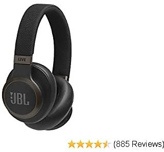 2020 Around-Ear Wireless Headphone with Noise Cancellation - Black