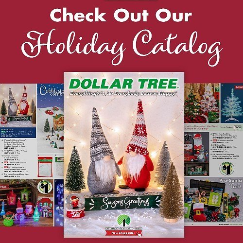 Dollar Tree Holiday Catalog (9/30-12/25)