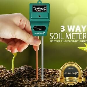 3-in-1 Soil PH and Moisture Light Intensity Meter Plant Tester for Plants Growth