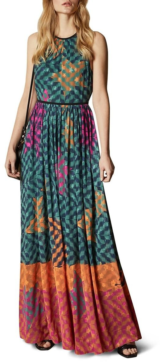 Ted Baker London | Zohzoh Pinata High Neck Maxi Dress | Nordstrom Rack