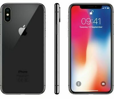 Apple IPhone X - 64GB - Verizon + GSM Unlocked T-Mobile AT&T 4G LTE- Space Gray 190198456656