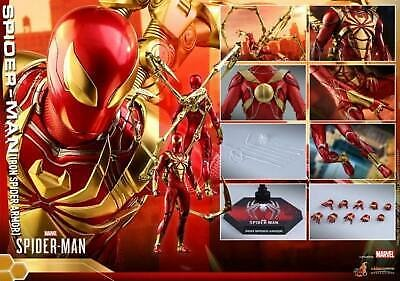 Deposit Hot Toys 1/6 Game Ver. Iron Spider-Man Armor Action Figure Model VGM38