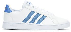 Girls' Adidas Little Kid & Big Kid Grand Court Sneakers