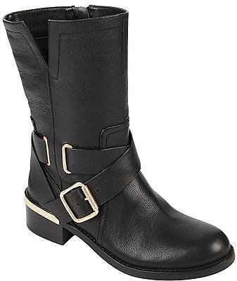 Vince Camuto Wethima Leather Moto Boot