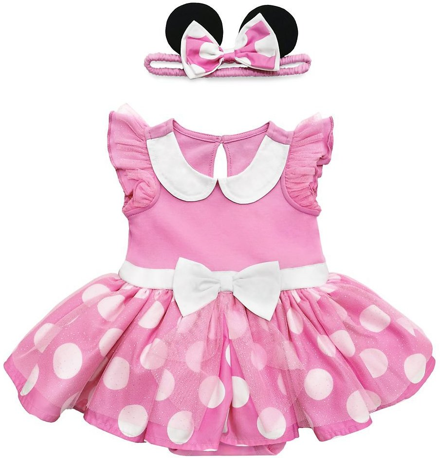 Minnie Mouse Costume Bodysuit for Baby – Pink | ShopDisney