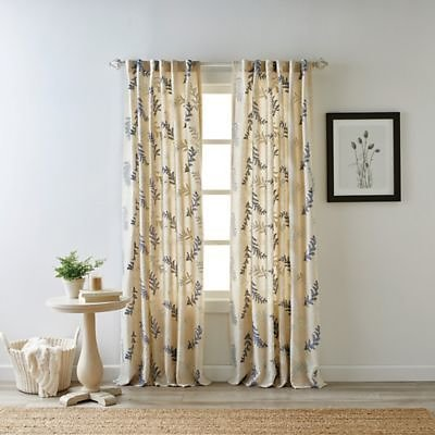 Bee & Willow™ Home Bedford Rod Pocket/Back Tab Light Filtering Window Curtain Panel - 63