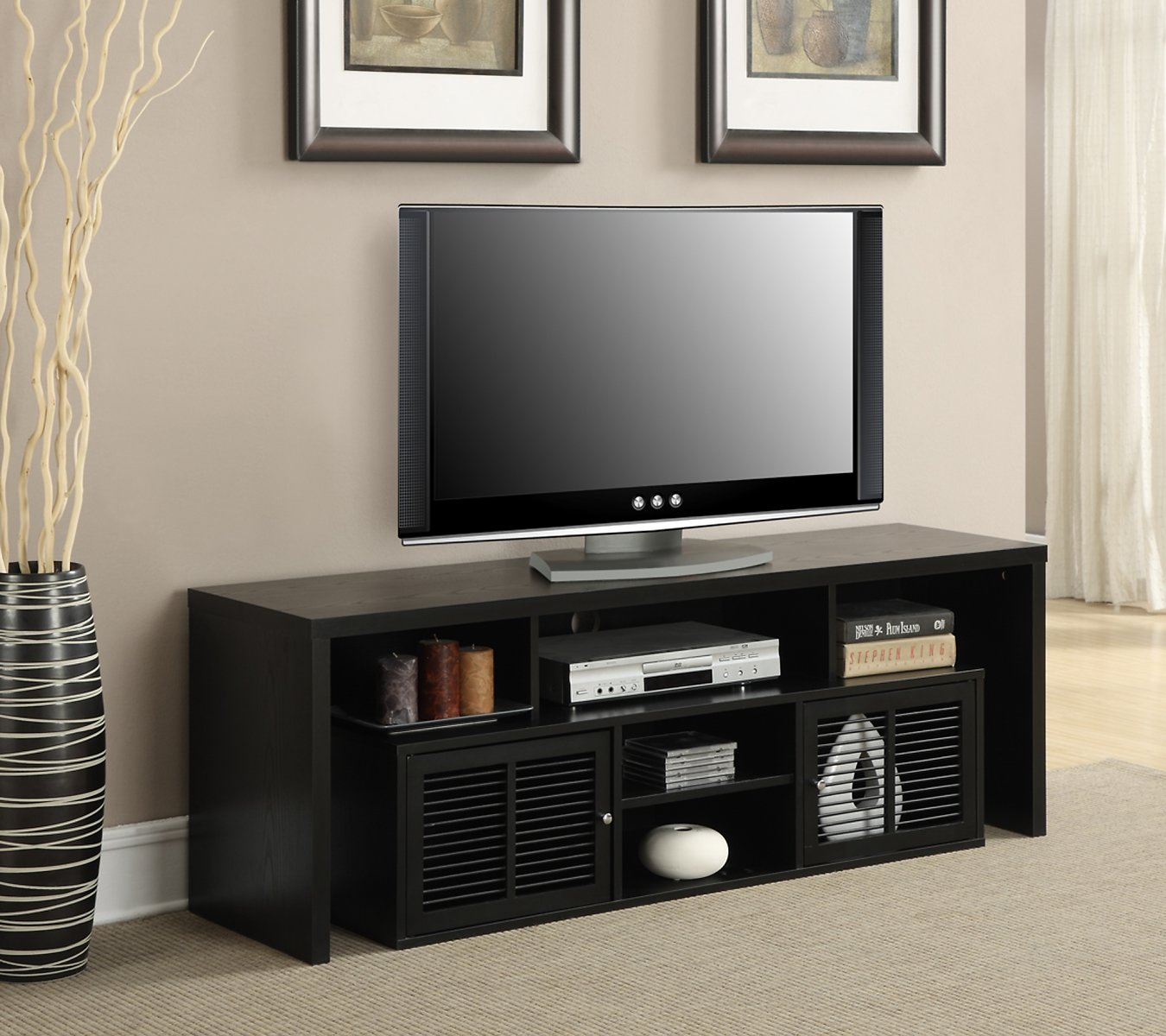 Convenience Concepts Lexington TV Stand for TVs Up to 60