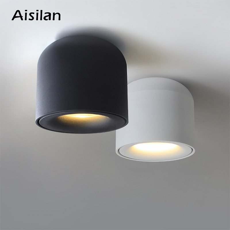 US $20.77 46% OFF|Aisilan Surface Mounted LED Downlight COB Spot Light for Living Room, Bedroom, Kitchen, Bathroom, Corridor, AC 90v 260v|light For|light for Living Roomlight for Room - AliExpress