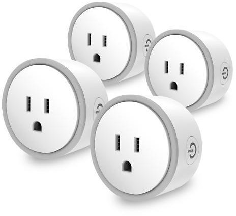 4-Pack Elf Smart Plug By Eques No Hub Required