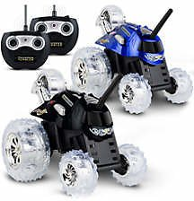 Sharper Image Two Pack Thunder Tumbler Toy Remote Control Car