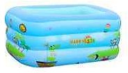 Wholesale 150cm Three Layer Print Bubble Bottom Family Adult Durable Inflatable Summer Children's Rectangular Swimming Pool Game Pool From M.alibaba.com