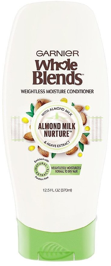 Garnier Whole Blends Moisturizing Almond Milk and Agave Extract Conditioner 12.5fl Oz