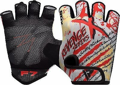 RDX Weight Lifting Training Gym Gloves Body Building Fitness Exercise Glove CA