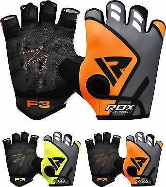 RDX Gym Training Weight Lifting Gloves WorkOut Fitness BodyBuilding Exercise CA