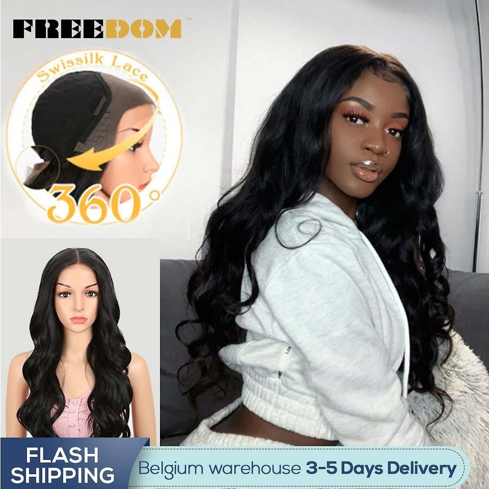 60 Lace Front Synthetic Wigs For Black Women Ombre Blond Red Color Ponytail Supreme Hair Cosplay