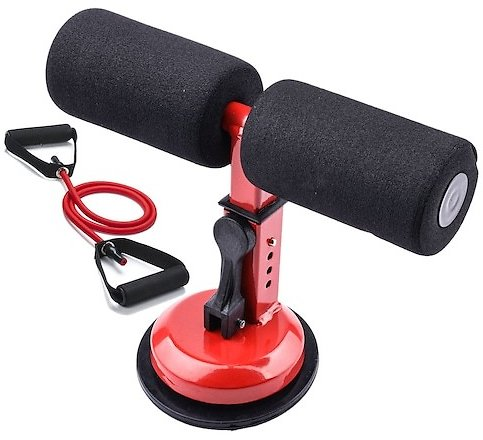 Fitness Sit Up Bar Assistant Gym Exercise Device Resistance Tube Workout Bench Equipment for Home Abdominal Machine Lose Weight