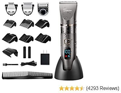 Mens Beard Trimmer Cordless Hair Trimmer Hair Clipper Detail Trimmer 3 In 1 for Men Hair Cutting Kit 2020