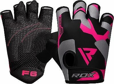 RDX Ladies Weight Lifting Gym Gloves Body Building Women Training Fitness CA
