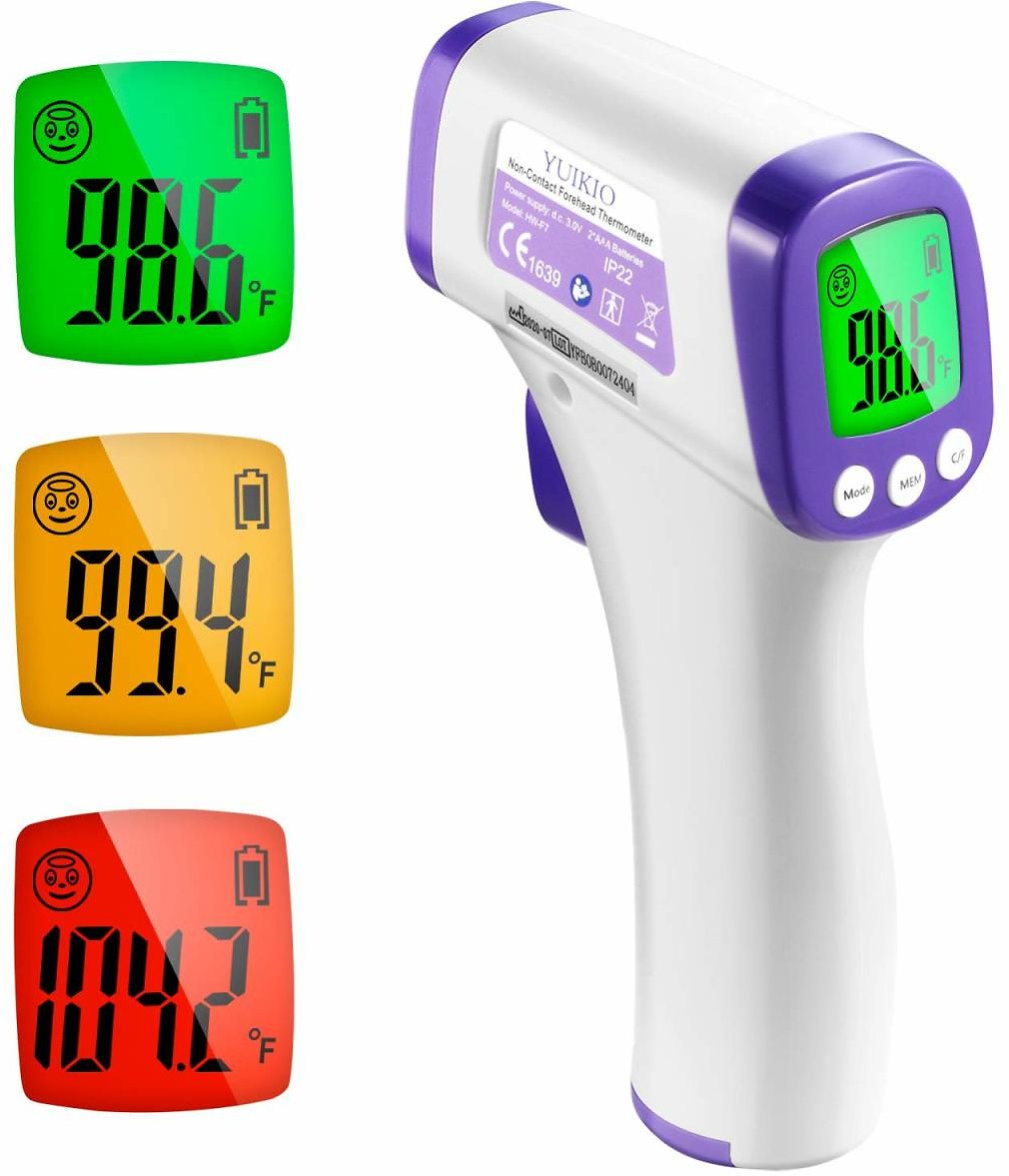 Infrared Forehead Touchless Thermometer