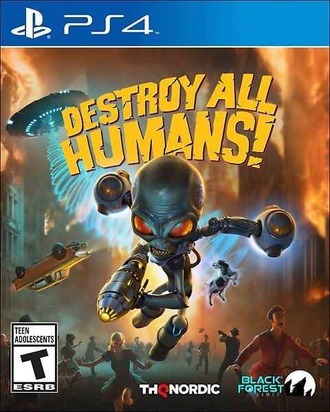 Destroy All Humans! (PS4/Xbox One Used)