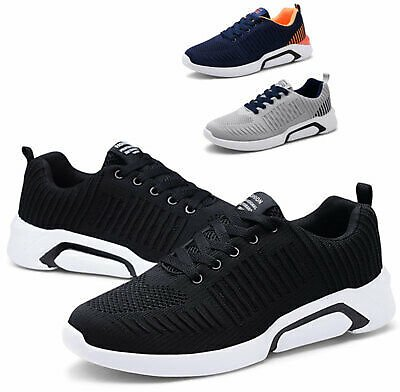 Men's Outdoor Casual Shoes Sports Running Fashion Athletic Tennis Sneakers Gym