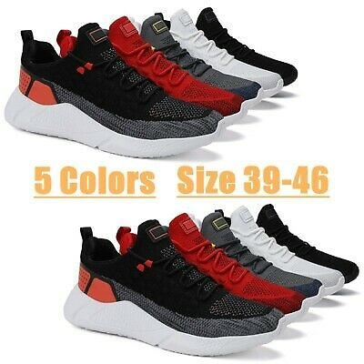Men's Fashion Running Shoes Casual Athletic Walking Tennis Trainers Sneakers Gym
