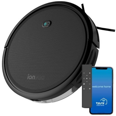 IonVac Robot Vacuum 2000Pa Suction Wi-Fi Connected