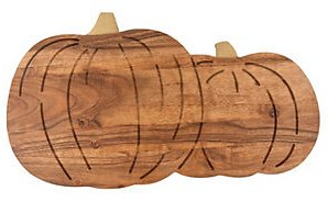 Thirstystone Pumpkin Wood Serving Board & Reviews - Serveware - Dining
