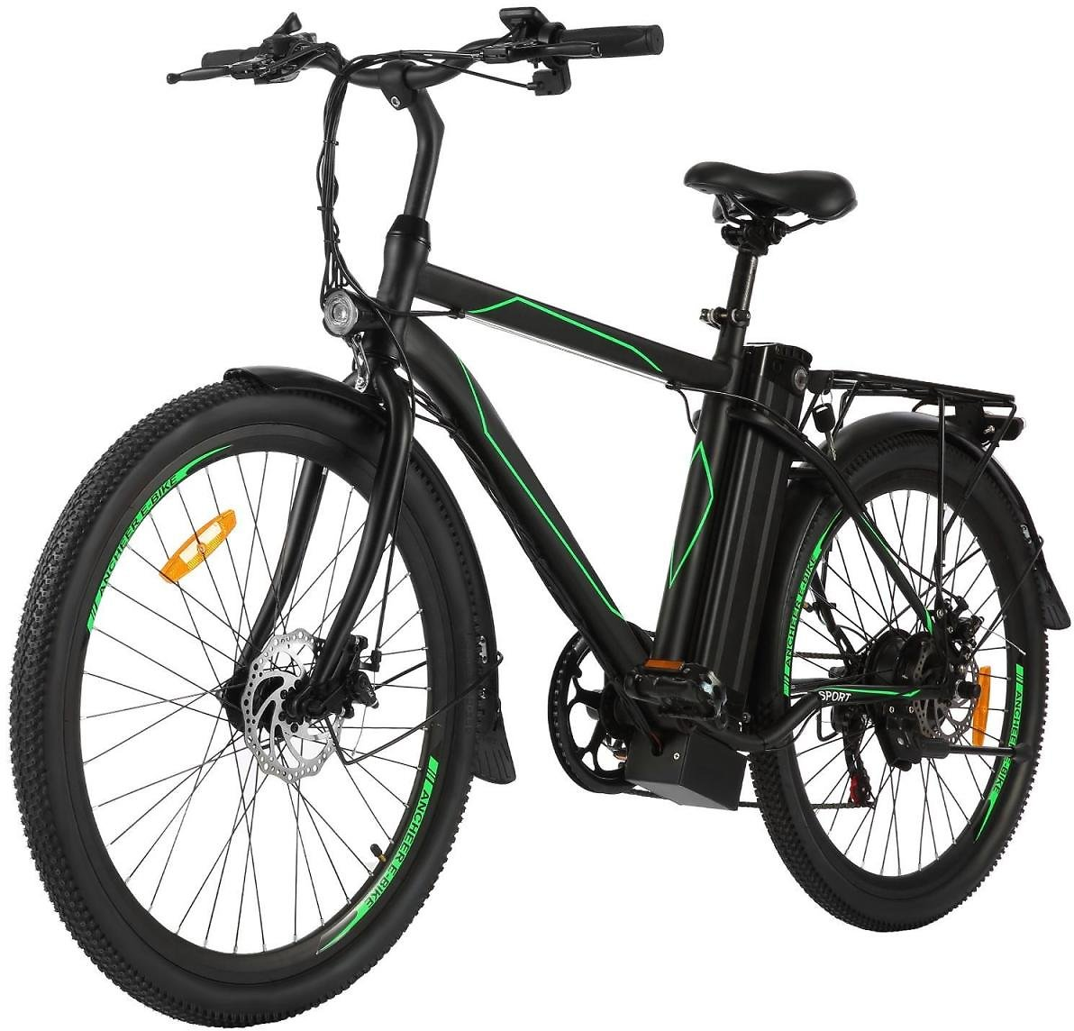26in Electric Bike Power Assist Commuter Bicycle,15.5mph Ebike with 10Ah Battery, Professional 21 Speed Electric Mountain Bicycl